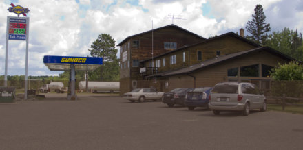 Tall Pines, grocery, gas station, hotel, motel, resort, propane, Amasa, MI, Michigan